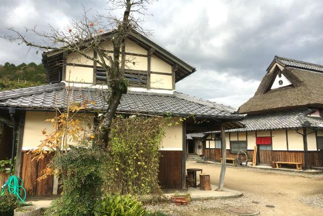 加佐歴史の道を歩く 安寿姫伝承と下東散策