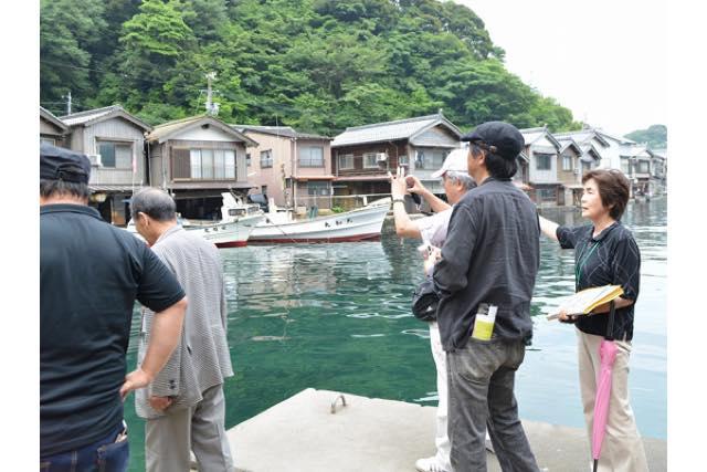 【京都・伊根町】伊根航路で行く舟屋ガイドツアー(自由ランチ・7時間)