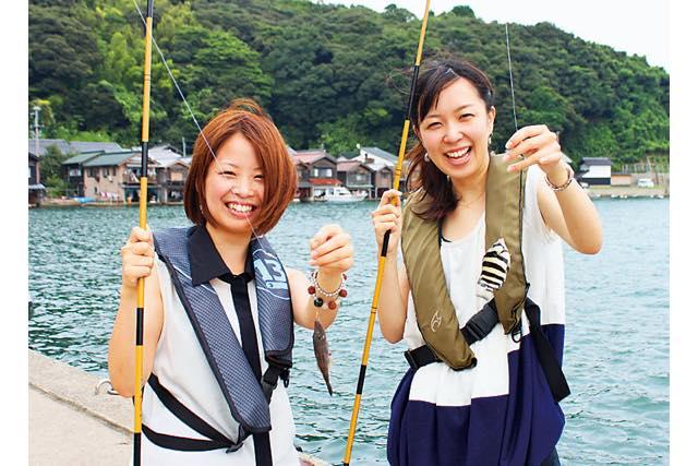 【京都・伊根町】伊根航路で行く魚釣り体験ツアー(7時間)