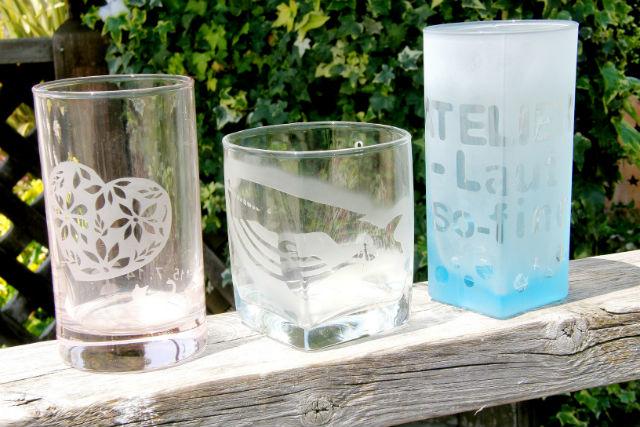 【熱海・ガラス細工】絵や文字を簡単彫刻!子どもと楽しめるサンドブラスト体験
