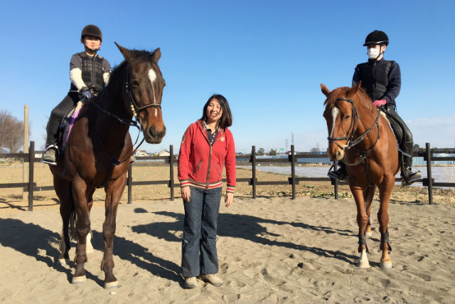 【群馬・太田市・乗馬体験】馬と友達になろう!体験乗馬プラン