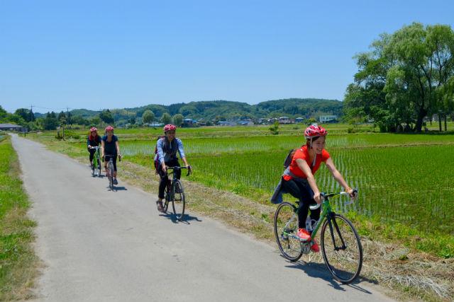 【栃木・那須・サイクリング】スポーツバイクで走ろう!那須里山ファームライド(農作業体験・手作りランチ付き)