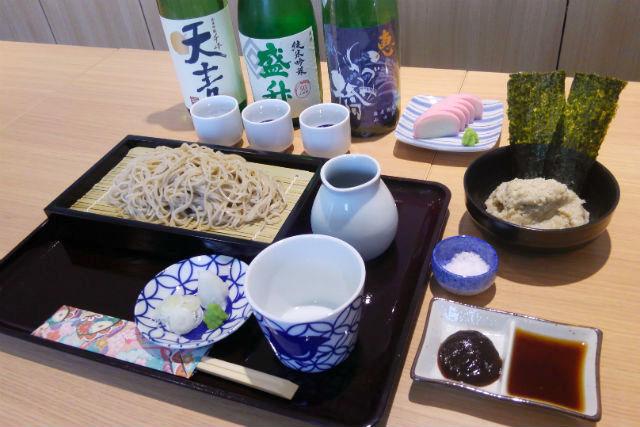 【神奈川・鎌倉市・料理体験】地酒の試飲&そばがき作り付き!そば講座プラン(夕食込み)