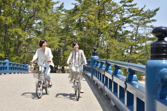 【京都・レンタサイクル】天橋立を回ろう!レンタサイクル(5時間レンタル)