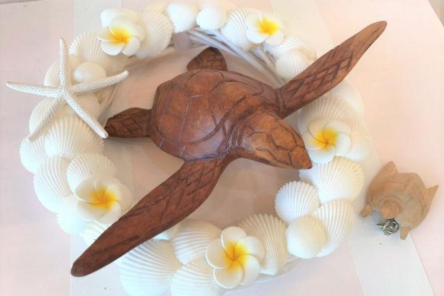 【沖縄・マリンクラフト】貝殻を組み合わせて作ろう!サマーリース