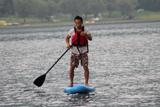 【山梨・西湖・SUP】西湖をお散歩しよう!初めてのSUP