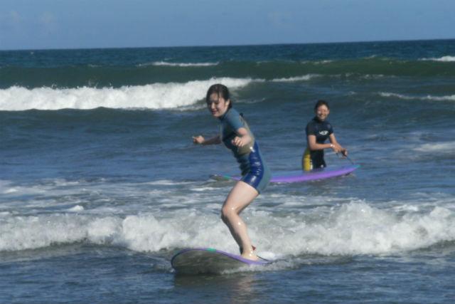 【静岡・サーフィン】初めての波乗りに感激!サーフィン体験