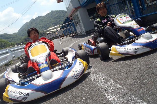 【岡山県・和気郡・ゴーカート】2サイクルレーシングカート・1日レンタル(タイム計測付き)