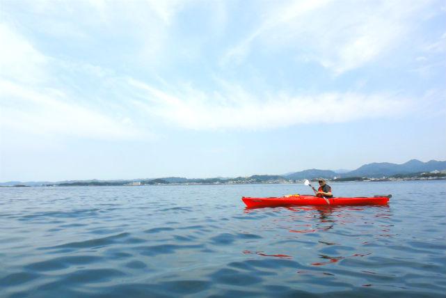 【和歌山・カヤック】港湾内の穏やかな波の上で、カヤックを満喫しよう!(2時間)