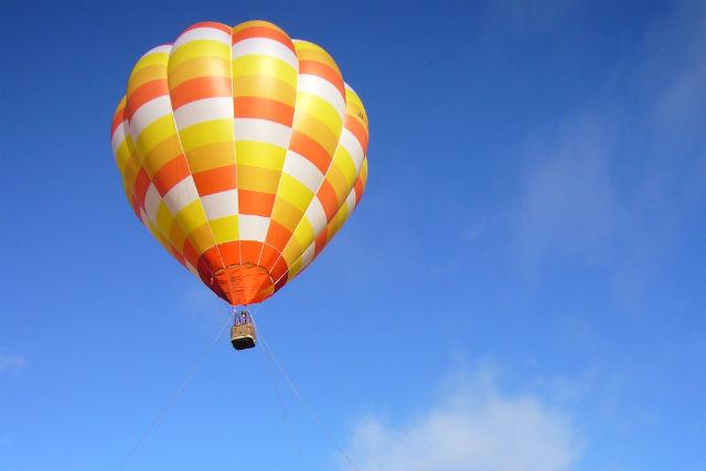 【北海道・ルスツ・熱気球】北海道の大自然を見渡そう!熱気球体験(夏限定)