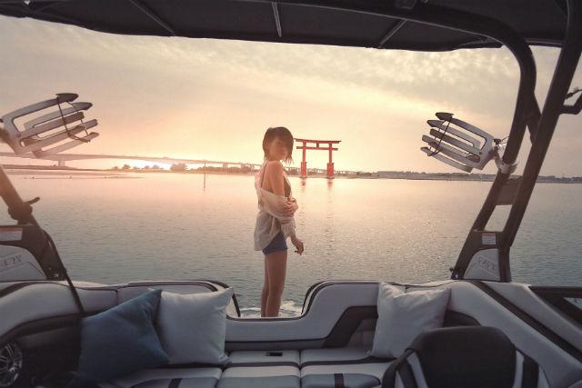 【静岡・浜名湖・クルージング】壮大な夕日に感動!ハッピーサンセットクルージング