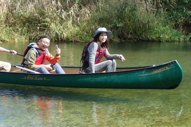 【釧路・カヌー】釧路川源流3.5kmをプライベートに川下り!約1時間お気軽コース
