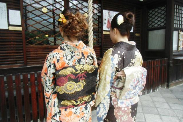 【京都市・着物レンタル】大人の装い。着物プレミアムプラン