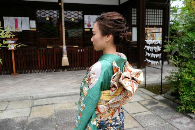 【京都市・着物レンタル】華やかな姿で出かけよう!振り袖プラン