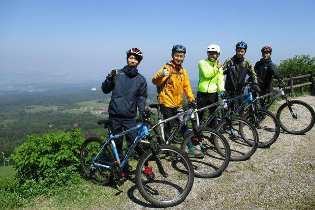 【鳥取・大山・サイクリング】大山スキー場~林道へ。ダウンヒルCコース(15km)
