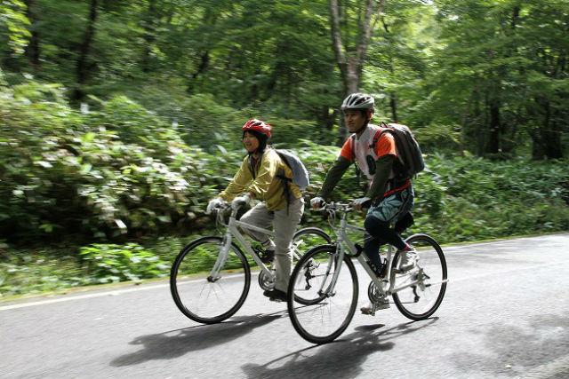 【鳥取・大山・サイクリング】マイペースに走ろう!自分たちでダウンヒルプラン