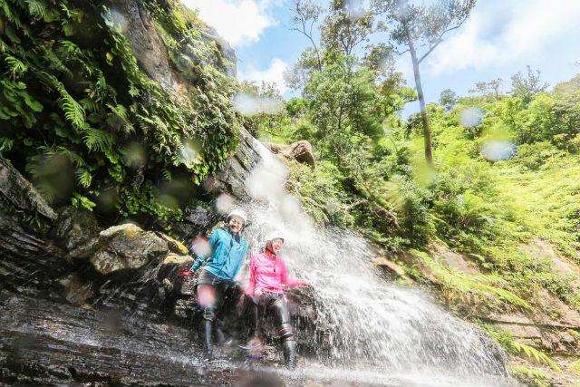 【沖縄・西表島・トレッキング】水遊びを満喫!滝トレッキング&ジャングルアドベンチャーツアー(A-3コース)
