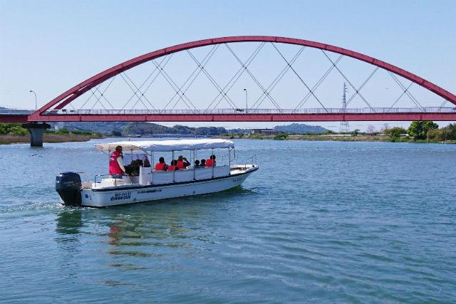 【浜名湖・観光船】直虎ゆかりの地をめぐる!約20分の浜名湖遊覧船