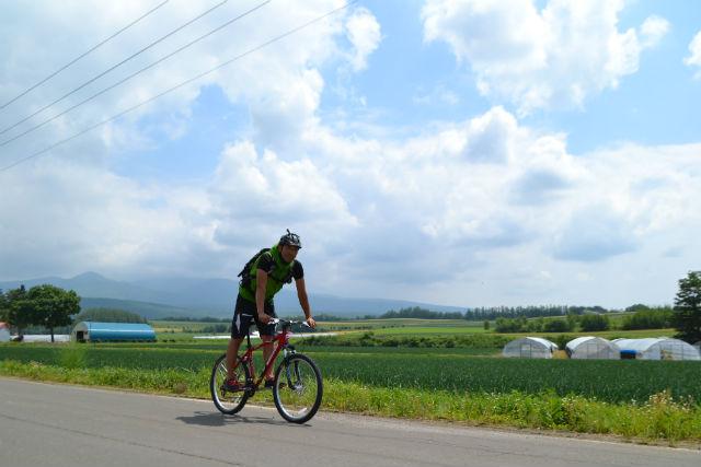 【北海道・富良野市・サイクリング】富良野の自然を満喫!カントリーサイクリング(貸切)