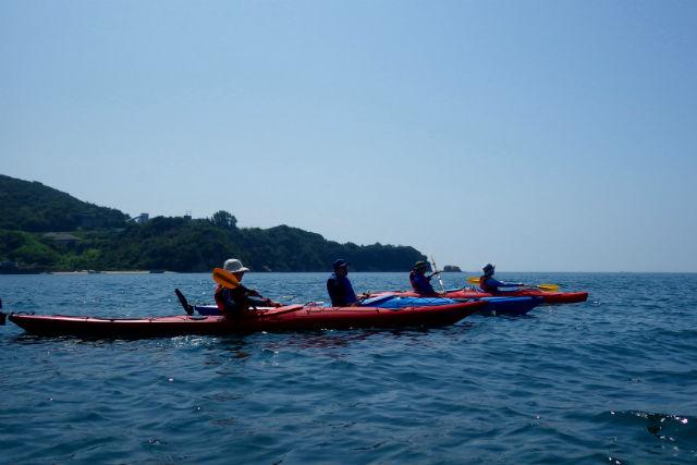 【愛媛・シーカヤック】瀬戸内海の景色を満喫!体験カヤックツアー(1日コース)