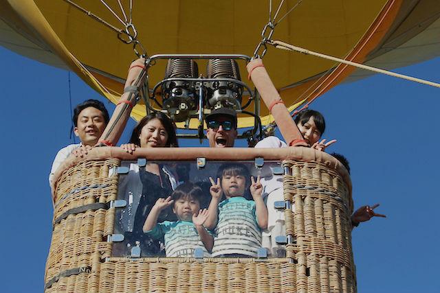 【北海道・ニセコ・熱気球】空からニセコ連峰を眺めよう!ニセコバルーン(高さ30m)