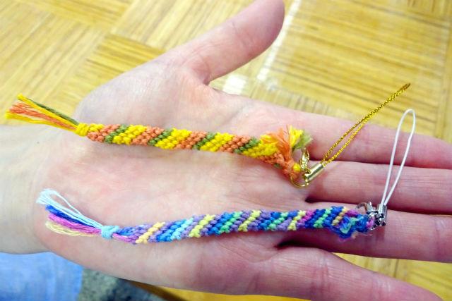 【岐阜・飛騨市・組紐】糸を編み込んで作ろう。組紐体験(ストラップ)