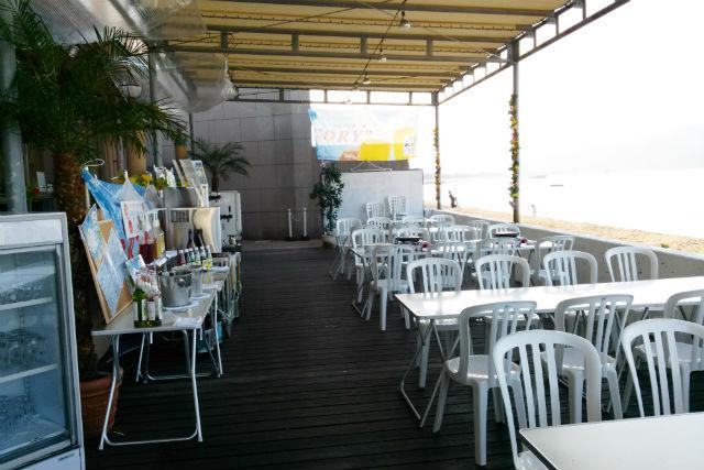 【香川・BBQ】海の目の前でBBQ!場所だけレンタルコース