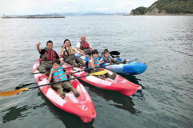 【淡路島・シーカヤック】国立公園の福良湾で開催!シーカヤック体験