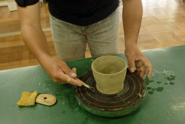【島根・松江市・陶芸体験】手びねりの陶芸体験!2つの器を作れます(コップ・お皿など)