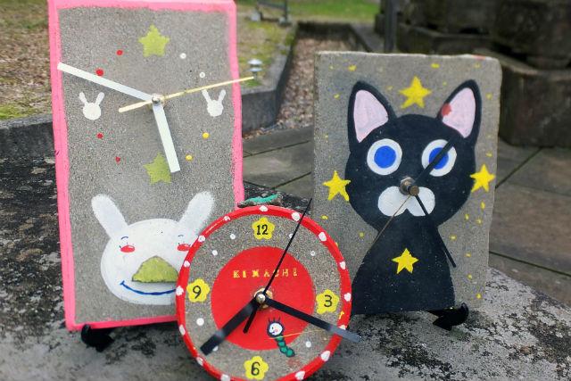【島根・松江市・手作り時計】チクタクと時を刻む。来待石の時計を作ろう