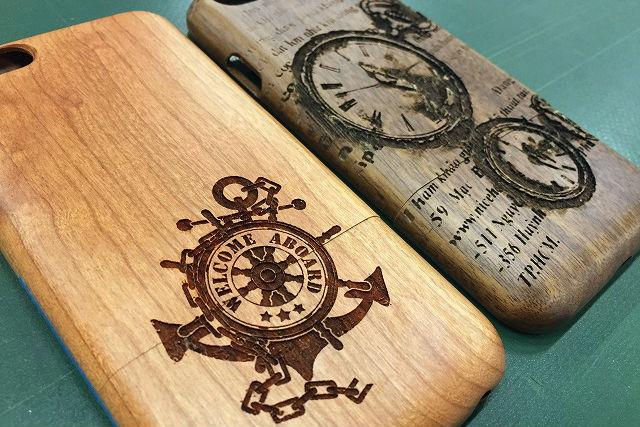 【兵庫・神戸・木工体験】レーザーカッターで木製スマホケースをデザインしよう!