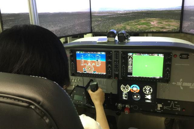 【神戸・操縦体験】セスナ「C172-Skyhawk」でフライトを満喫!(30分・初回限定)