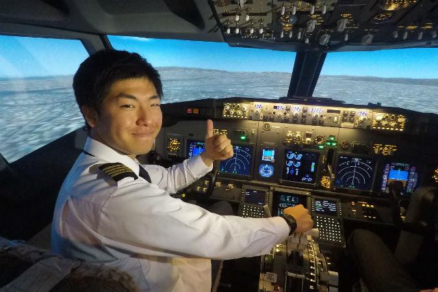 【神戸・操縦体験】ボーイング「B737-800」でフライト体験!(30分・初回限定)