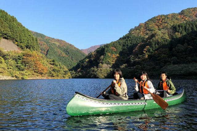 【福井・カヤック】龍ヶ鼻ダム~竹田川渓谷をゆく!カヤック体験