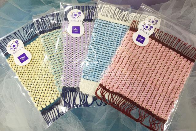 【群馬・富岡市・機織り】シルク糸を織り上げる。機織り体験(コースター)