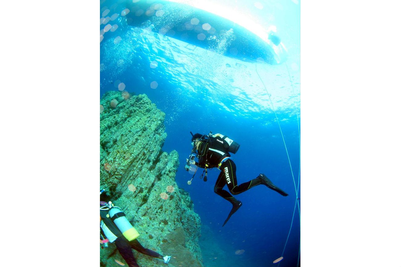 【鹿児島・体験ダイビング】透明度の高さが自慢!坊津で体験ダイビング