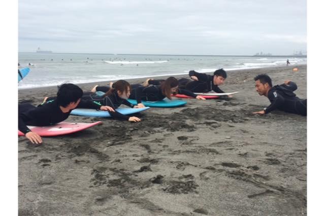 【札幌・サーフィンスクール】波に乗る楽しさを味わおう!体験サーフィン