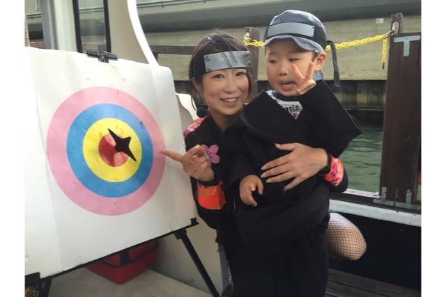 【大阪・忍者体験】忍者衣装で水都大阪を観光!忍者船 Ninja Cruise