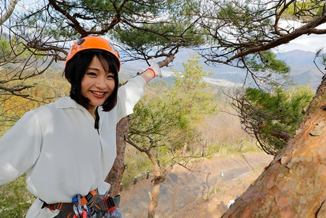 【兵庫・木登り】木にしがみついて登る!昔ながらの木登り体験※宿泊客限定