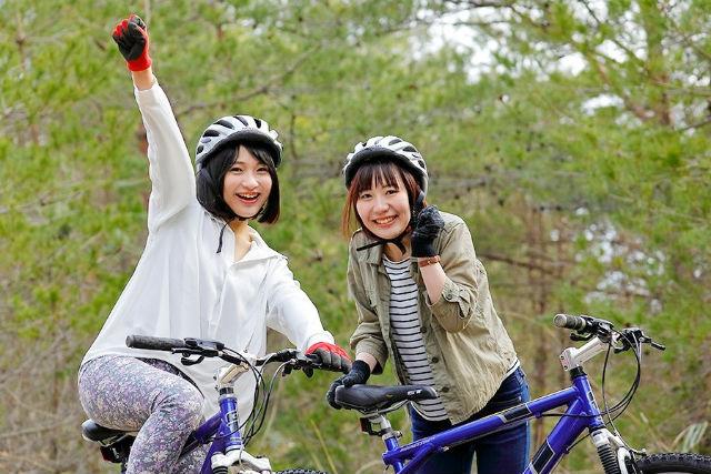 【兵庫・レンタサイクル】レンタサイクルのMTBに乗って、朝来ツーリング!(1時間)※宿泊客限定