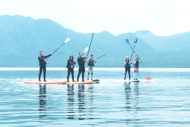 【北海道・千歳市・SUP】写真データ付き!透明度の高さに感動!支笏湖SUPツアー