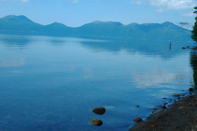 【北海道・千歳市・SUP】透明度の高さに感動!支笏湖SUPツアー