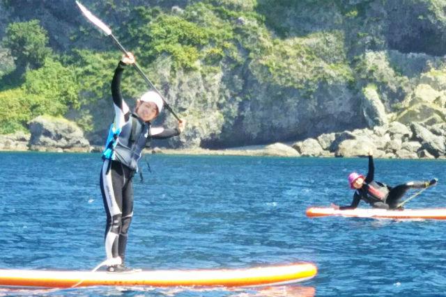 【北海道・小樽・SUP】小樽の青の洞窟へご案内!SUPツアー