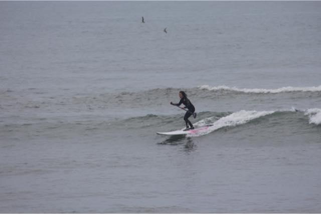【北海道・SUP】SUPに乗って波乗りを体験!
