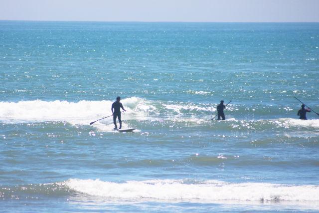 【北海道・SUP】写真データ付き!SUPに乗って波乗りを体験!(浜厚真)