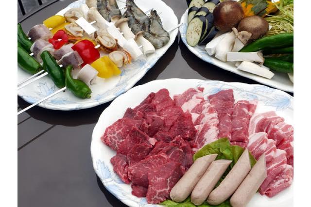 【岐阜県・郡上市】和牛セット付。食材込みの手ぶらBBQ(4時間)
