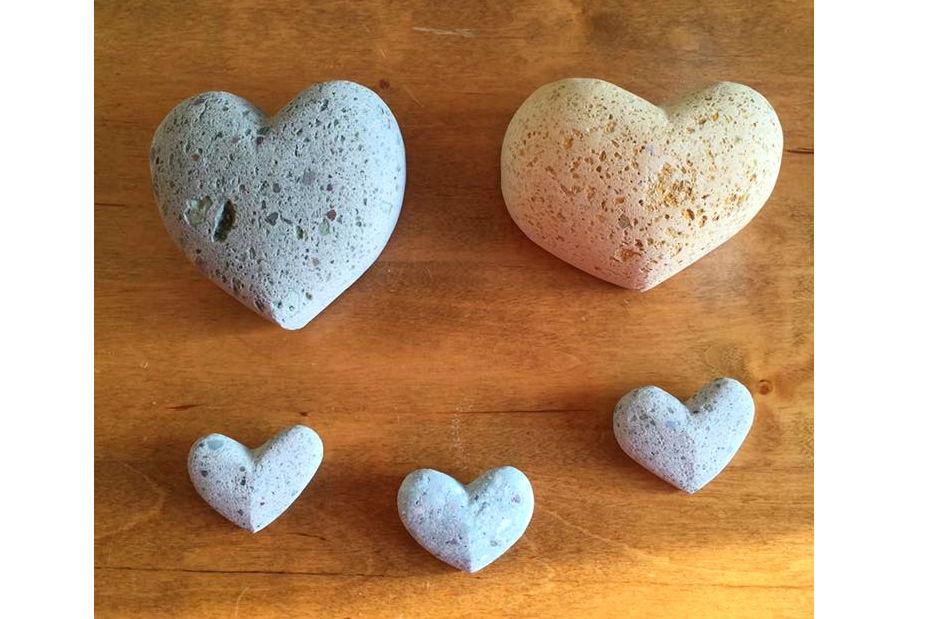 【石川・白山市】ハート型の石作り!石彫体験1個(3時間)