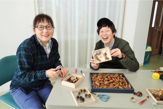 【富山】森で木の実ひろい&クラフト体験(120分)
