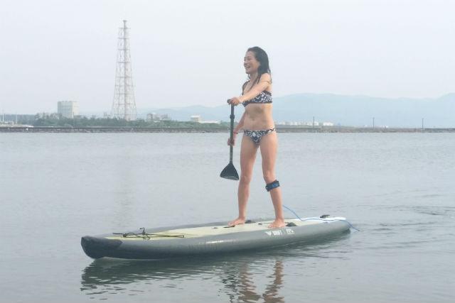 【福井・三国・SUP】初めての方大歓迎!SUPで三国の海へ漕ぎ出そう