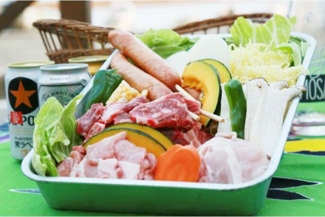 【福井・三国・BBQ】7月8月限定!海の家「浜茶屋」で手ぶらDE BBQプラン
